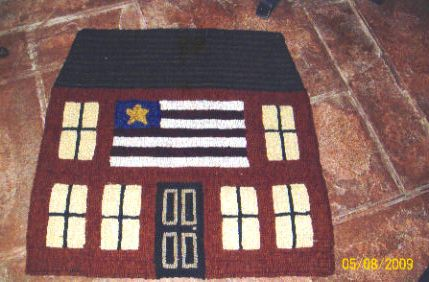 Saltbox flag